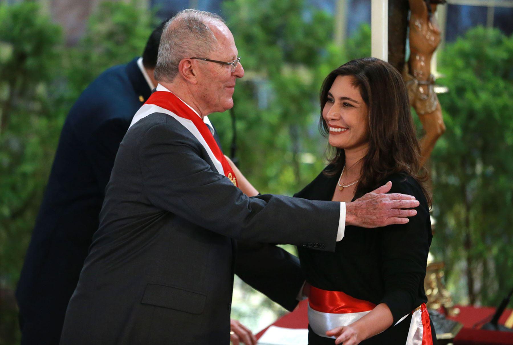 Angela Grossheim, flamante Ministra de Energía y Minas (Foto: ANDINA)
